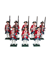 0664 Toy Soldiers Set Garde Suisse Painted