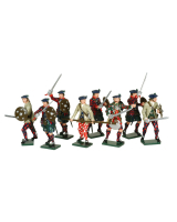 0681 Toy Soldiers Set The Jacobite Rebellion 1745 Painted
