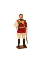 0047 1 Toy Soldier Officer 4th Regiment of Bengal Lancers 1900 Kit