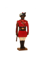 0047 2 Toy Soldier Sergeant 4th Regiment of Bengal Lancers 1900 Kit