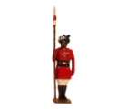 047 3 Toy Soldier Lancer 4th Regiment of Bengal Lancers 1900 Kit