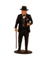 0563 Toy Soldier Set Sir Winston Churchill with Walking Stick Painted