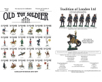 Old Toy Soldier Magazine 2020 Volume 43 Number 4 - Cumulative Indices 2010-2019