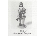 H010 - Dismounted Dragoon - Unpainted