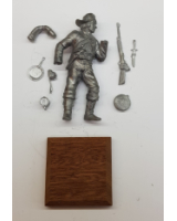 REAL MODELS RM 5 - Private of the 8th Texas Cavalry in Campaign dress Kit