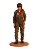 T54 092 Female IAF Pilot  - Using Air Craft, F-15E Strike Eagle - The Israel Defense Forces Kit