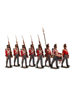 0765 Toy Soldiers Set British Foot Guards Painted