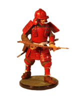 Sqn80 083 Japanese Samurai Warrior Painted