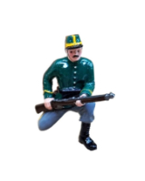 0834-3 Toy Kit, at the ready by Machine Gun - 1st Carabinier Regiment Kit