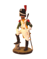 Sqn80 014 Sapeur, French Line Dragoons Painted