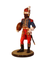 Sqn80 020 Cymbalist French Imperial Guard 1802 Painted