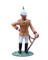 T54 066 British Officer Central India Horse Regiment Painted