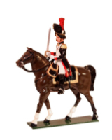 0771 Toy Soldiers Set Mounted Officer French Grenadiers of the Guard  Painted