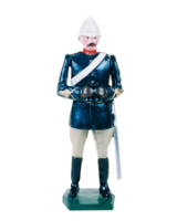 0045 1 Toy Soldier Officer Mountain Artillery Battery 1900 Kit