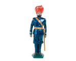 0045 3 Toy Soldier Gunners Mountain Artillery Battery 1900 Kit