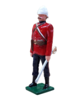 0054 1 Toy Soldier Officer The Royal West Kent Regiment Egypt 1882 Kit