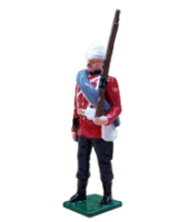 0054 3 Toy Soldier Private The Royal West Kent Regiment Egypt 1882 Kit