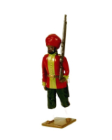 0008 2 Toy Soldier Private 15th Bengal Infantry Ludhiana Sikhs 1890 Kit