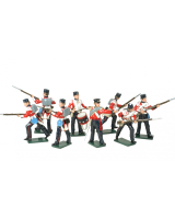 0101 British Infantry Toy Soldiers Set Painted