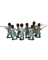0105 Coldstream Guards Toy Soldiers Set Painted