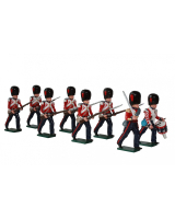 0112 Coldstream Guards Advancing Toy Soldiers Set Painted