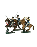 0113 - 17th Lancers Toy Soldiers Set Painted
