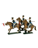 0114 - 17th Lancers Toy Soldiers Set Painted