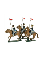 0115 - 17th Lancers Toy Soldiers Set Painted