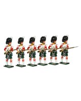 0118 - 93rd Highlanders Toy Soldiers Set Painted