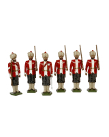 0070 Toy Soldiers Set 8th Madras Native Infantry 1890 Painted