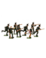 0705 Toy Soldiers Set The 95th Rifles Painted