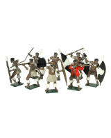 402 Toy Soldiers Set Zulus Married Regiments Painted