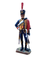RC110 08 French Hussar 1808 Napoleonic Period Painted