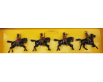 8835 W Britain Queen's Own Corps of Guides Cavalry Set Painted