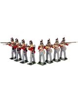 0708 Toy Soldiers Set British Line infantry Painted