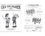 Old Toy Soldier Magazine 1988 Volume 12 Number 5-6 - Composition Highlanders plus Britains War Work