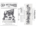 Old Toy Soldier Magazine 1989 Volume 13 Number 3 - WWI Cardboard Toys