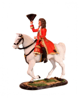M54 62 The Duke of Marlborough Mounted The Battle of Blenheim 1704 Painted