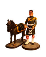 Sqn80 034 Pony Major and Mascot Argyll and Sutherland Highlanders 1975 Painted