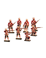 1104 Toy Soldiers Set 42nd Highlander Regiment The Black Watch Painted