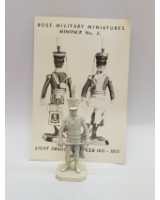 Rose Miniatures No. 002 - Light Dragoon Officer 1811-1815 - Kit
