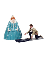 H3 Toy Soldiers Set Queen Elizabeth I and Sir Water Raleigh Painted