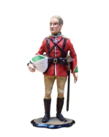ZU1A Officer, 24th Foot The Zulu War 1879, Painted