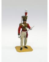 P012 British Officer - Painted