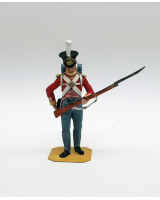 P023 British Infantry Man - Painted