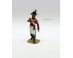P070 Royal Marine Officer Napoleonic War - Painted