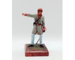 ToL 469 - American Civil War Confederate Army 90mm Foot Painted in Matt with Wooden base