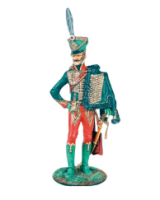 CS90 06 Officer 7th Regiment of Hussars 1805-1815 Painted