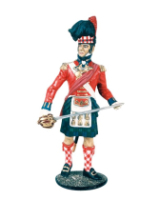 CS90 18 Officer The Black Watch 42nd Highlanders 1815 Kit