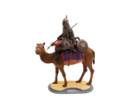 Series 77 - 11/4 Turkish Camel Rider, Crusades 1453 - Painted in Matt